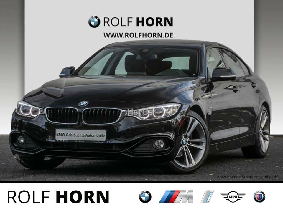 BMW 420 Gran Coupe Sport Line Aut. Navi HIFI Sitzhz, Jahr 2015, Benzin