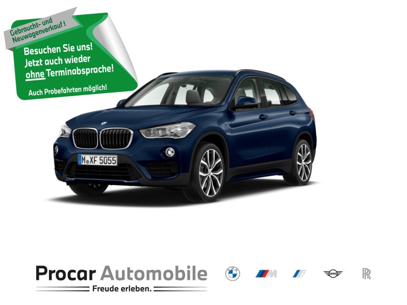 BMW X1 sDrive20i Sport Line Navi RFK LED H/K 19 0,15% Fin., Jahr 2018, Benzin