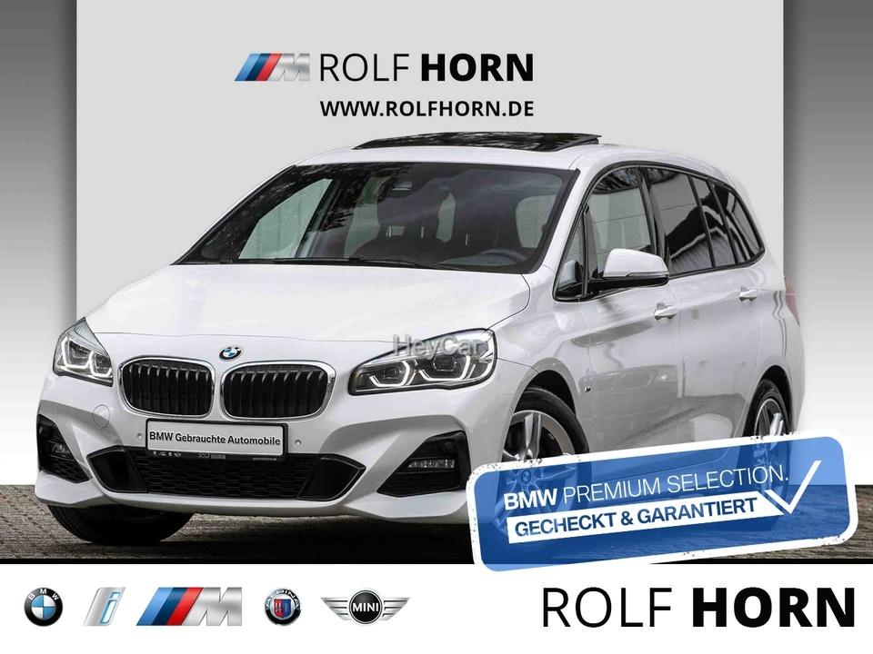 BMW 220 Gran Tourer xDr M Sportpaket Navi RFK Pano, Jahr 2018, Diesel