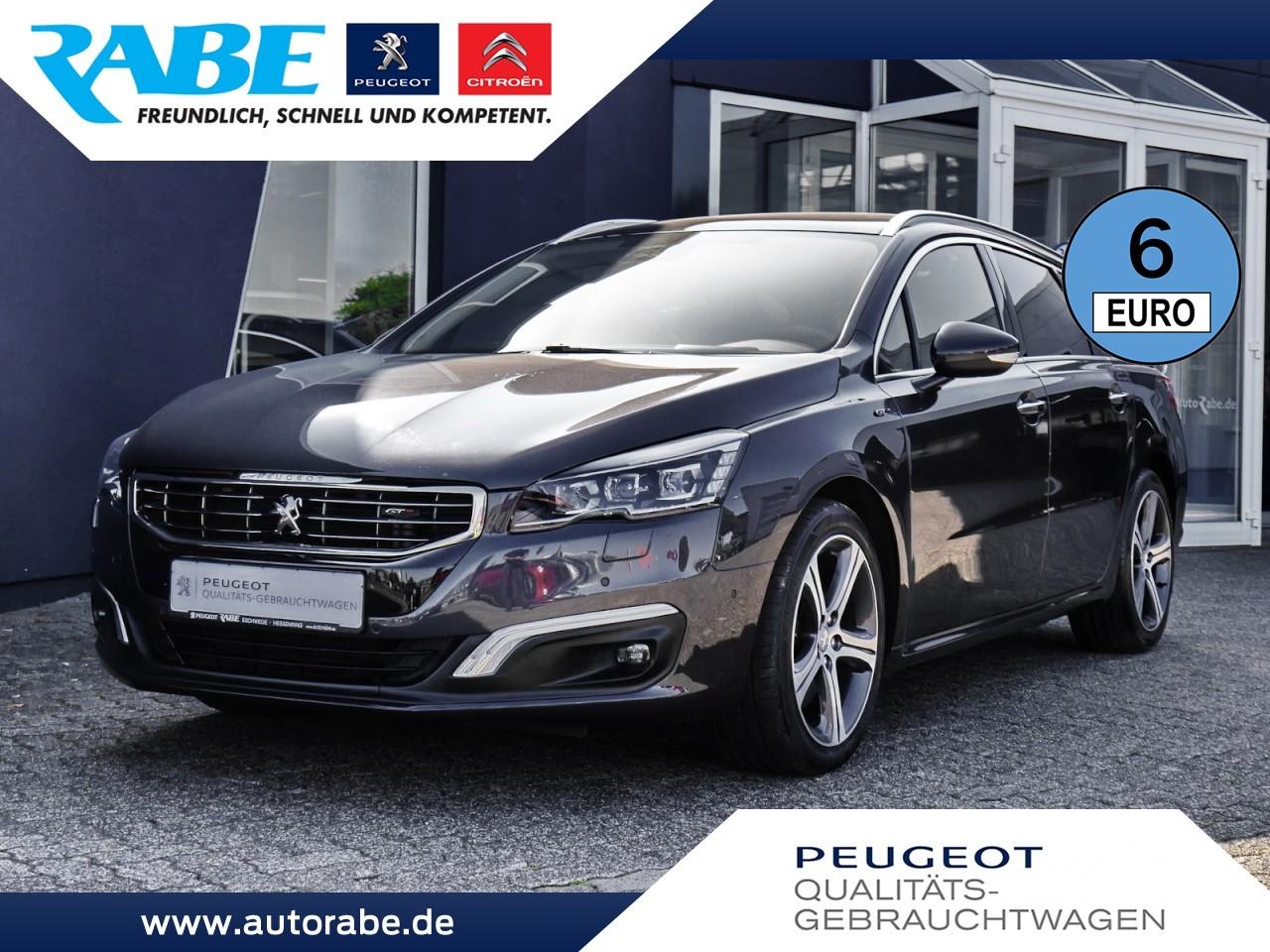 Peugeot 508 SW GT 180 BlueHDi Aut. NAV+Klima 4-Zonen+DAB, Jahr 2016, Diesel