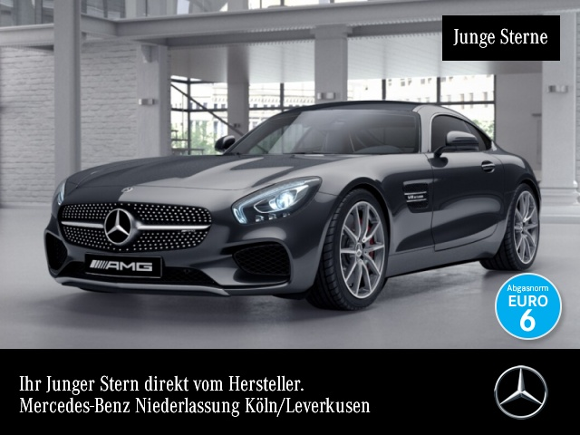 Mercedes-Benz AMG GT S Cp. Perf-Sitze Perf-AbGas Perf-Lenk Pano, Jahr 2017, Benzin