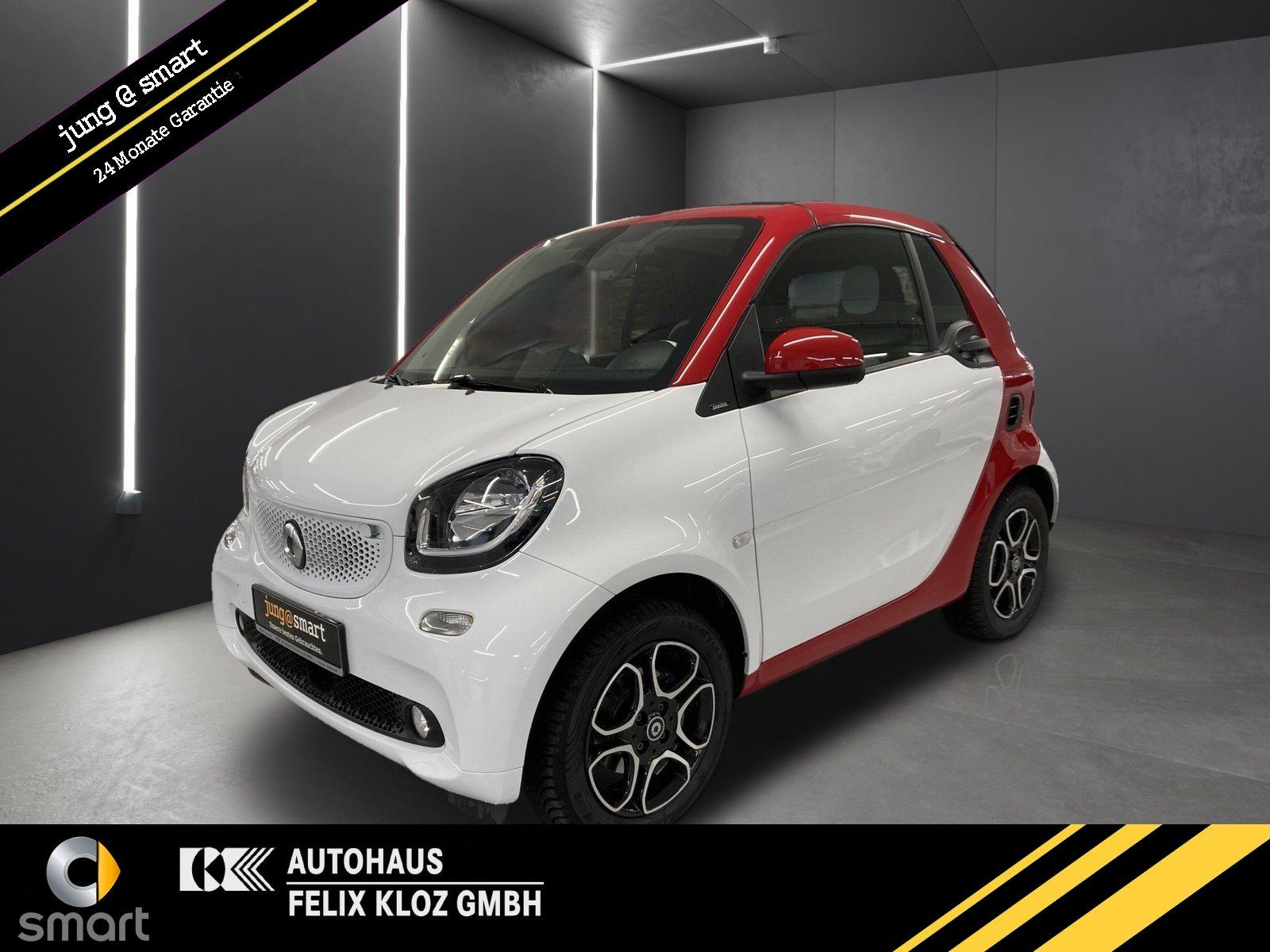 smart fortwo cabrio passion*Klima*LED&Sensor*DAB*Sitzh, Jahr 2019, Benzin