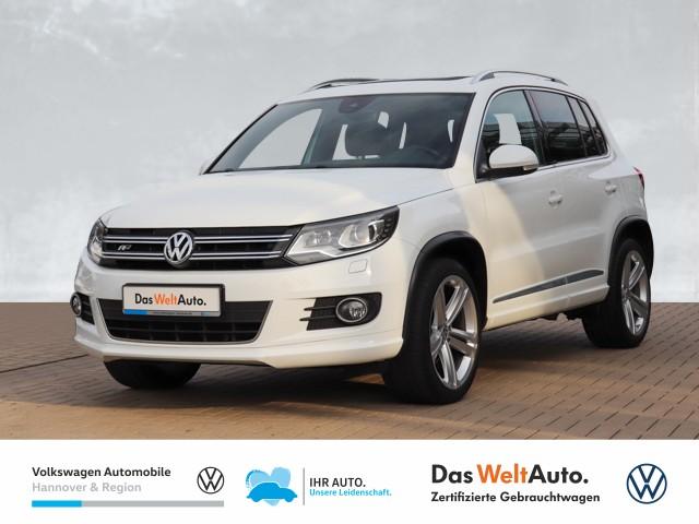 Volkswagen Tiguan 2.0 TDI DSG 4-Motion Sport & Style R-Line Navi Xenon AHK, Jahr 2016, Diesel