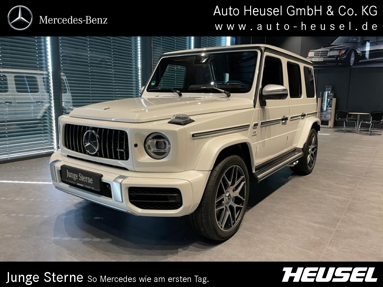 Mercedes-Benz G 63 AMG STRONGER THAN TIME Edition Designo, Jahr 2019, Benzin