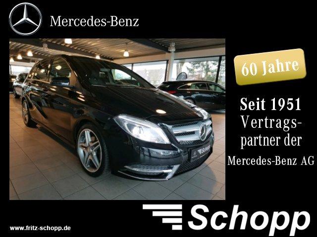 Mercedes-Benz B 200 NAVI AUTOM XENON SHZ AHK Navi/Autom./Klima, Jahr 2014, Benzin