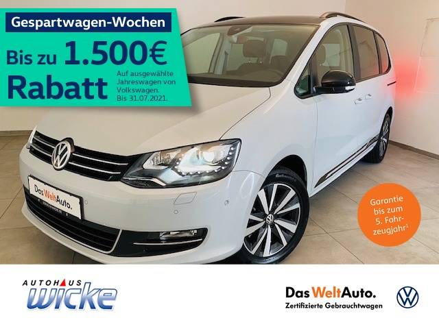 Volkswagen Sharan 1.4 TSI Comfortline 7.Sitzer Klima Navi, Jahr 2019, Benzin