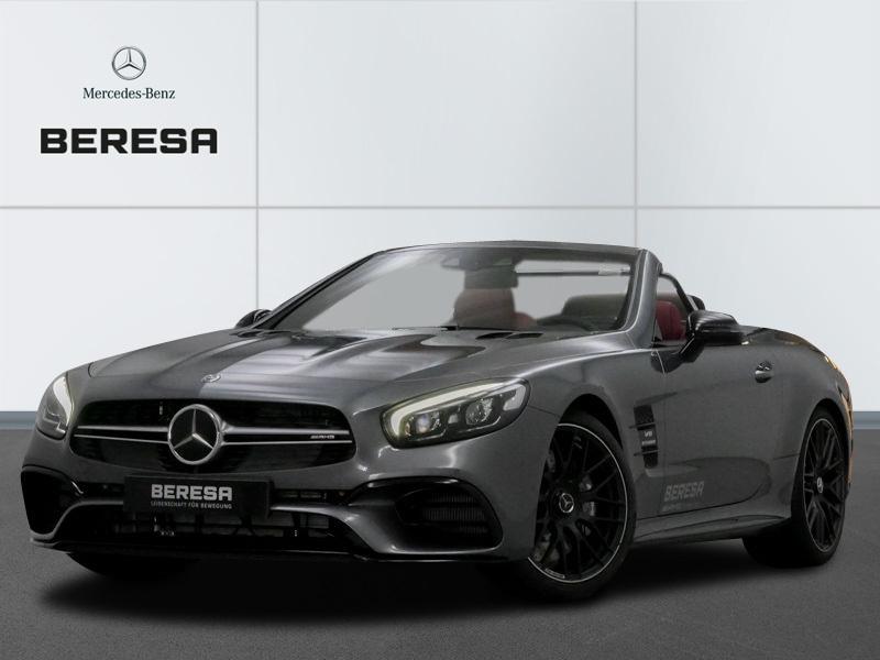 Mercedes-Benz SL 63 AMG Drivers P. Carbon Designo *Leder rot*, Jahr 2019, petrol