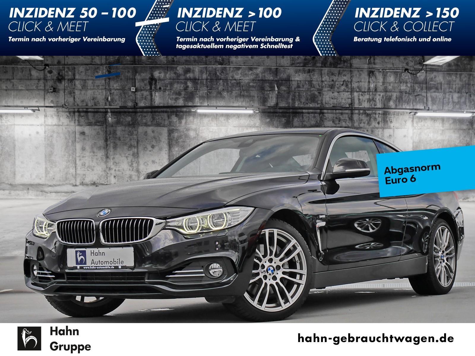 BMW 440i xDrive Luxury Line Navi Schiebedach Cam Leder, Jahr 2017, Benzin