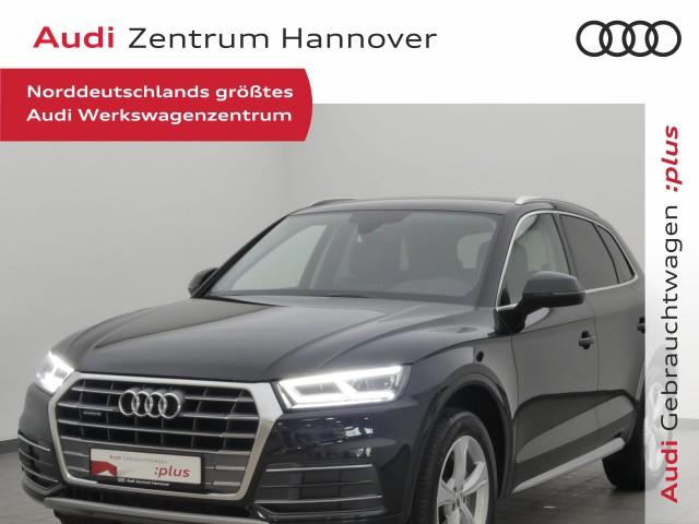 Audi Q5 40 TDI Sport, virtual, LED, Alcantara, AHK, Jahr 2019, Diesel