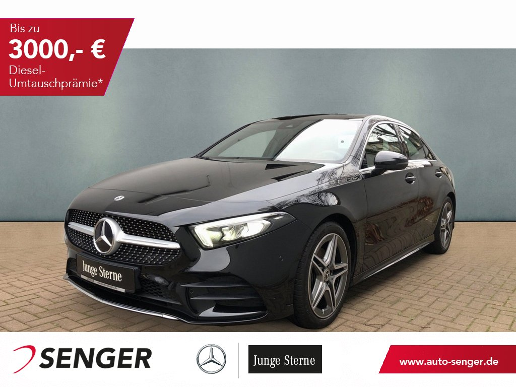 Mercedes-Benz A 180 AMG Lim Navi Business Panorama LED, Jahr 2019, Benzin