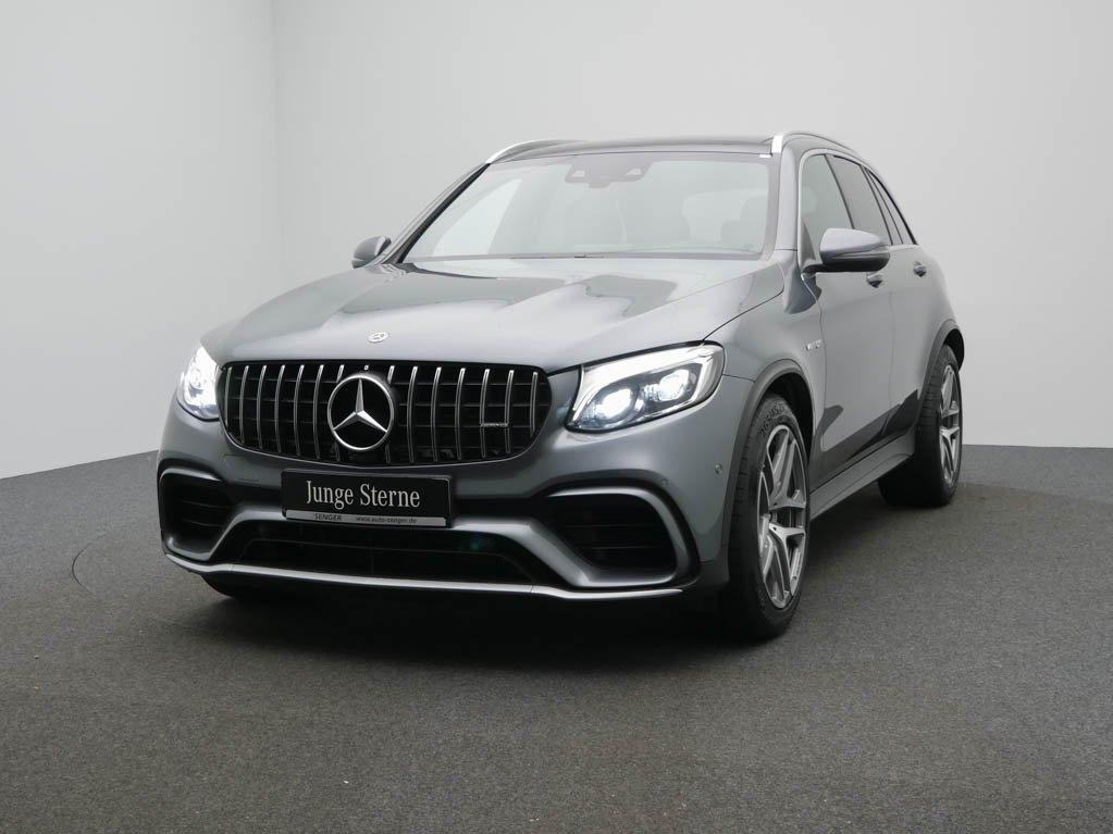 Mercedes-Benz GLC 63 AMG 4M Panorama Comand AHK Rückfahrkamera, Jahr 2019, Benzin