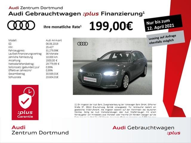 Audi A4 Avant design 40TFSI ACC/Navi+/STHZ/AHK, Jahr 2019, Benzin