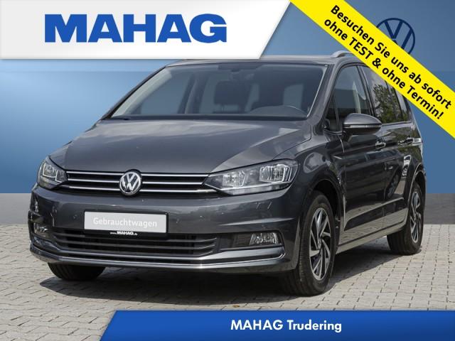 Volkswagen Touran Comfortline 1.4 TSI Klima Navi Sitzheizung Einparkhilfe FrontAssist 6-Gang Schaltgetriebe, Jahr 2018, Benzin