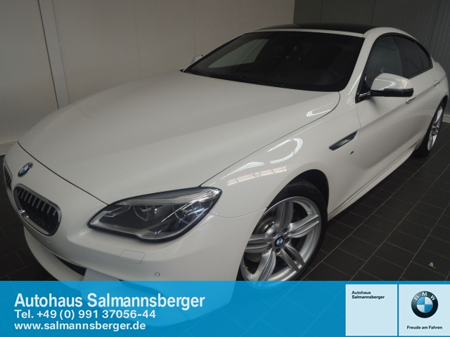 BMW 640i Gran Coupe M Sport SD Harman Kardon Bluetooth, Jahr 2015, petrol