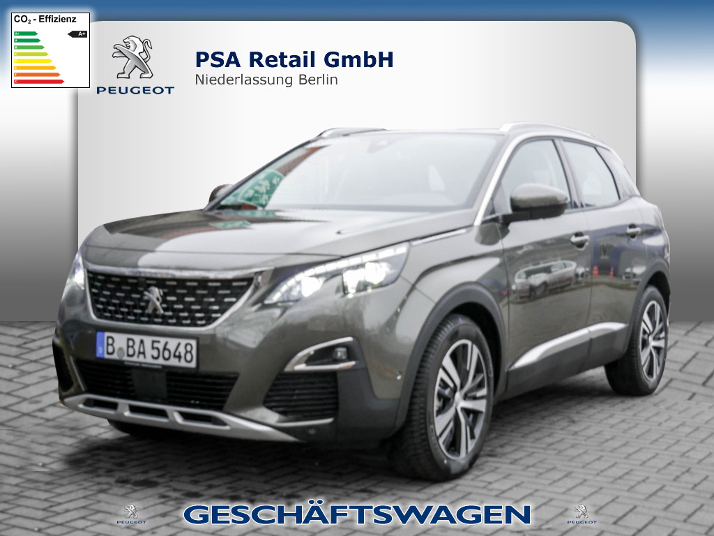 Peugeot 3008 Allure BlueHDi 130 EAT8, Jahr 2020, Diesel