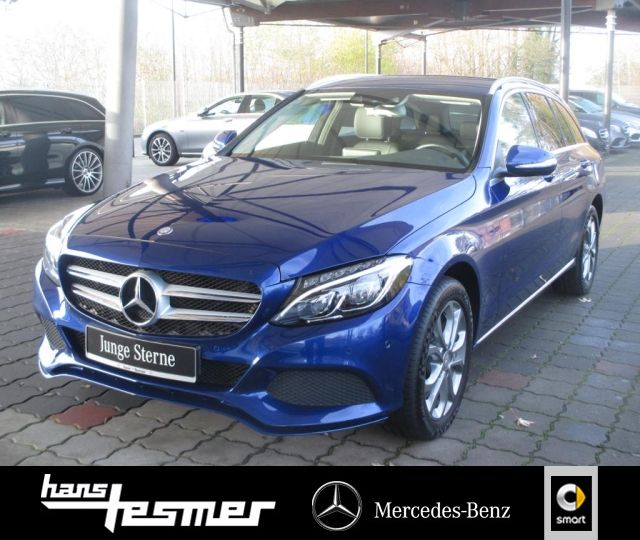Mercedes-Benz C 400 4MATIC T-Modell Avantgarde+LED+Navi+PTS+, Jahr 2015, petrol