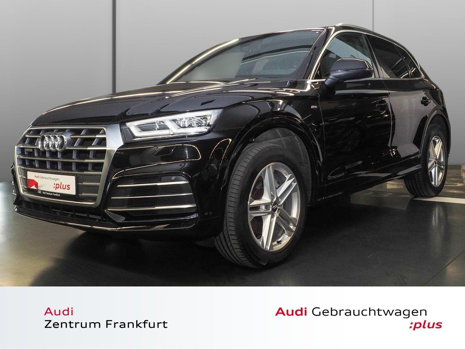 Audi Q5 40 TDI Sport quattro S tronic S line AHK Navi LED PDC Tempomat, Jahr 2019, Diesel
