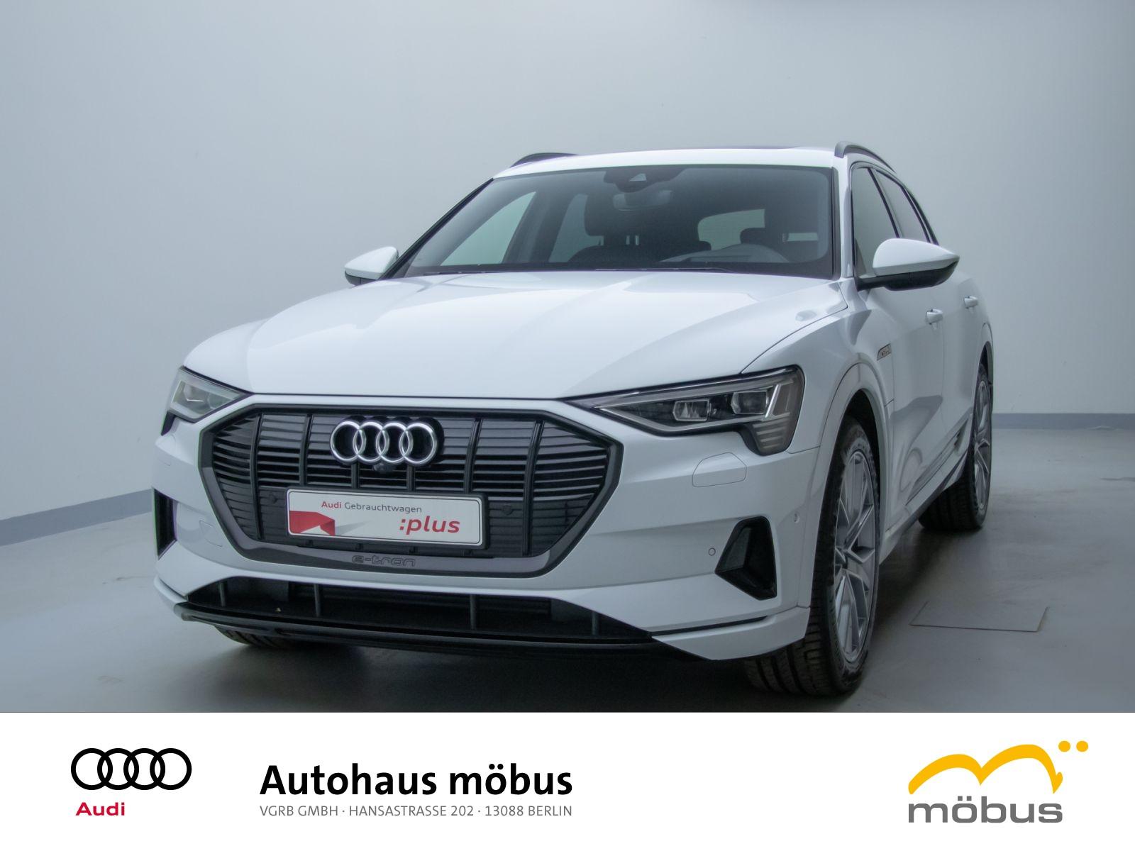 Audi e-tron advanced 55 QU*VIRT*LED*B&O*PANO*AHK*ASS, Jahr 2020, Elektro