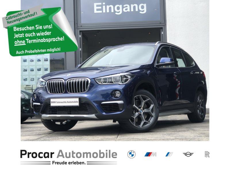BMW X1 xDrive20i xLine LED Navi Tempomat Klimaaut., Jahr 2018, Benzin