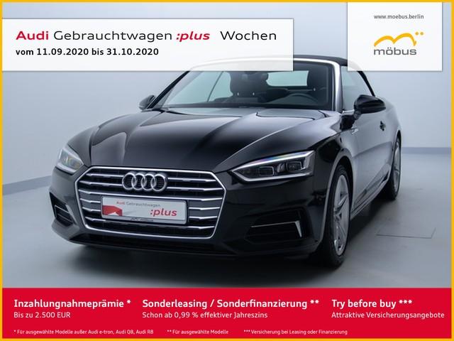 Audi A5 Cabrio 40 TDI Sport S-TRO*SLINE*LED*NAV*GRA, Jahr 2019, Diesel