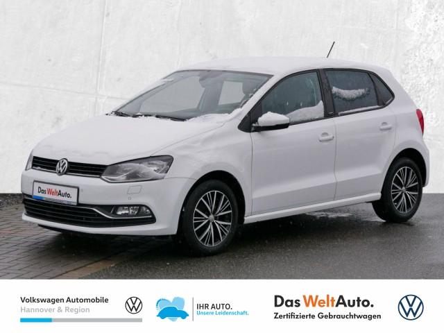 Volkswagen Polo 1.0 BMT Allstar Klima PDC, Jahr 2016, Benzin