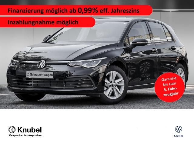 Volkswagen Golf VIII Life 1.5 TSI IQ.Light Navi Keyless Pan, Jahr 2020, Benzin