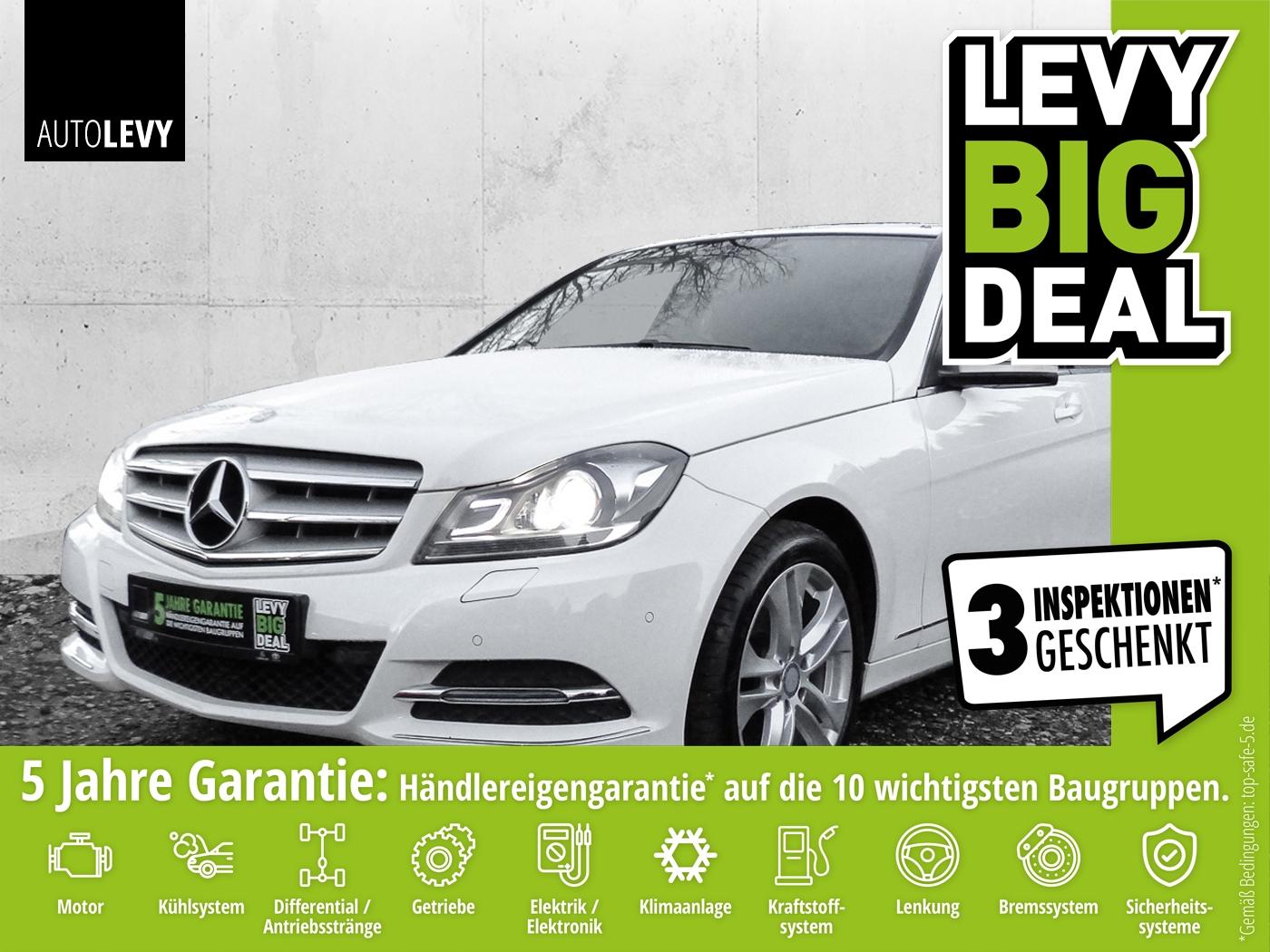 Mercedes-Benz C180 AVANTGARDE BE Bi-Xenon ILS*Navi*WKR*PDC, Jahr 2013, Benzin