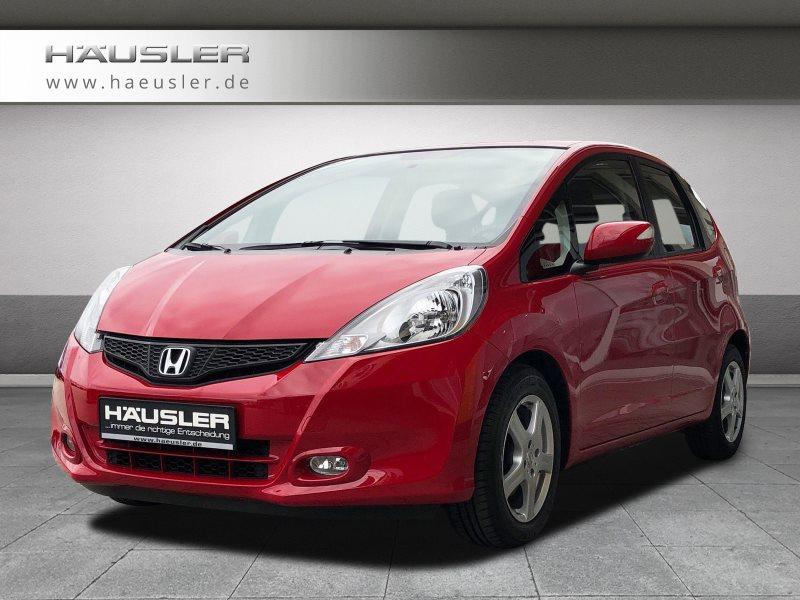 Honda Jazz 1.4 Comfort Automatik Parkpilot hi. Klimaauto. Schaltwippen, Jahr 2012, petrol