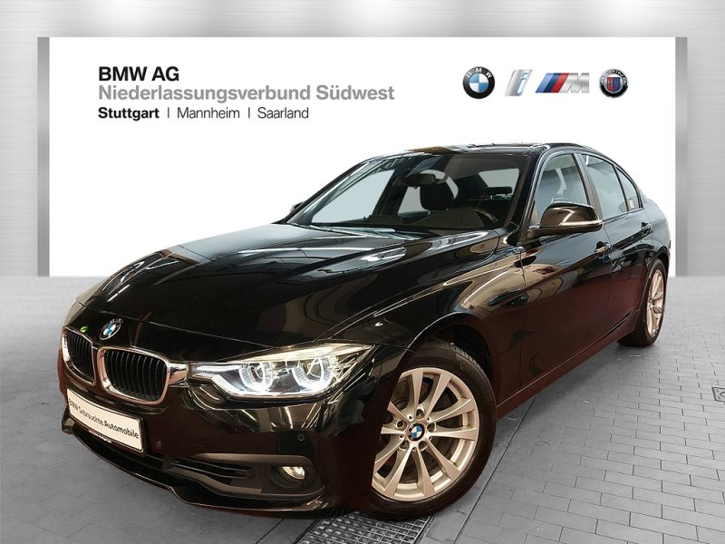 BMW 330d Limousine Advantage Head-Up HiFi DAB LED, Jahr 2017, Diesel