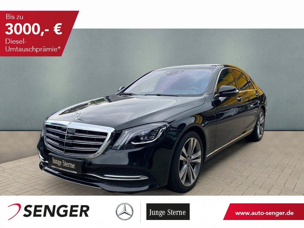 Mercedes-Benz S 400 d 4M Panorama Standheizung Keyless-Go 360°, Jahr 2019, Diesel