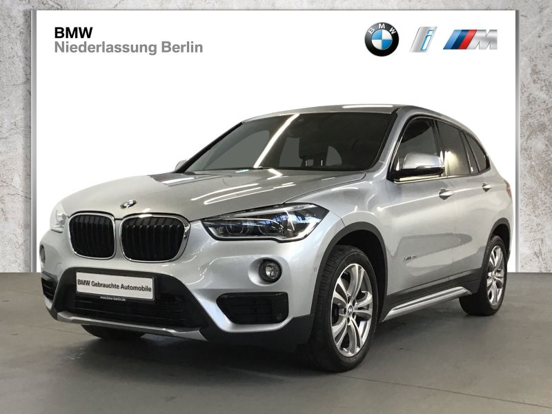 BMW X1 xDrive20d EU6 Aut. SportL. Leder LED Navi GSD, Jahr 2017, Diesel