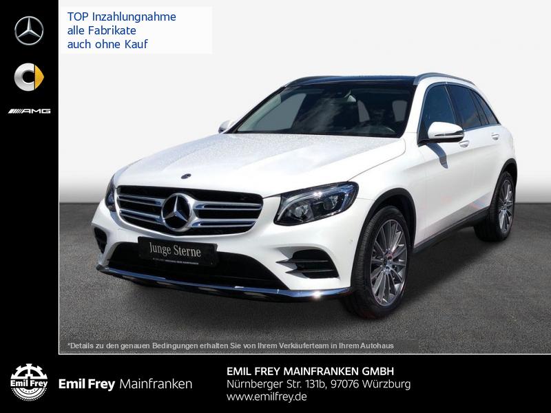Mercedes-Benz GLC 300 4M AMG+COMAND+20''+Spur+AHK+Pano+ILS, Jahr 2017, Benzin