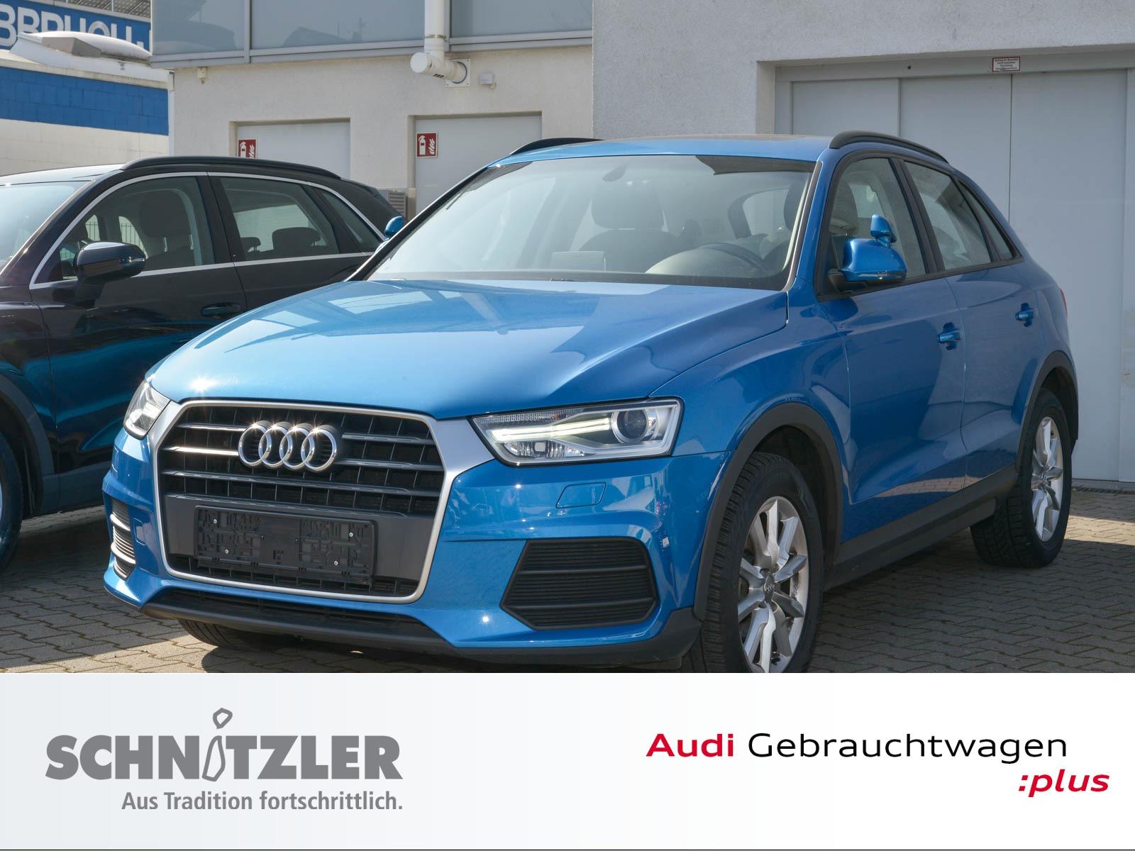 Audi Q3 2.0 TDI (EU 6) ex Fahrschulwagen, Jahr 2017, Diesel