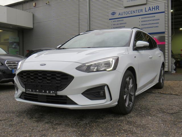 Ford Focus Turnier ST-Line EcoBoost 125 Navi Kamer..., Jahr 2021, Benzin