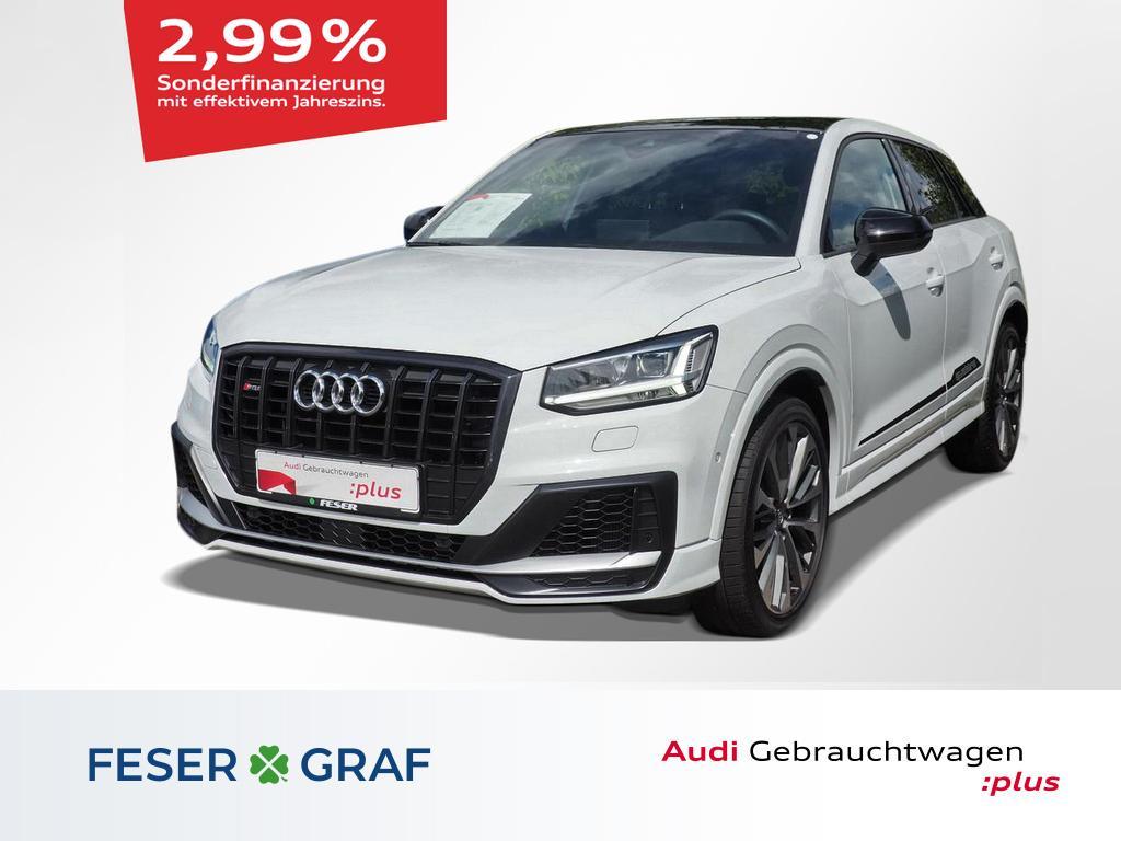 Audi SQ2 S tronic LEDER+NAVI+PANORAMA+KAMERA+Alu-19`, Jahr 2019, Benzin