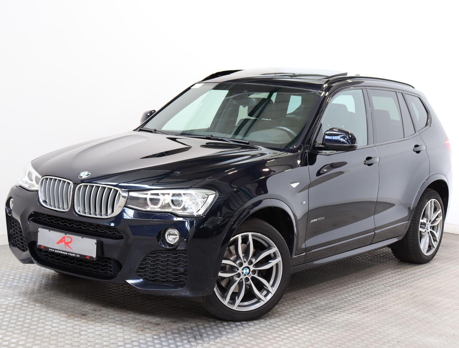 BMW X3 xDrive30d SAG M SPORT HEAD-UP,KAMERA,KEYLESS, Jahr 2016, Diesel