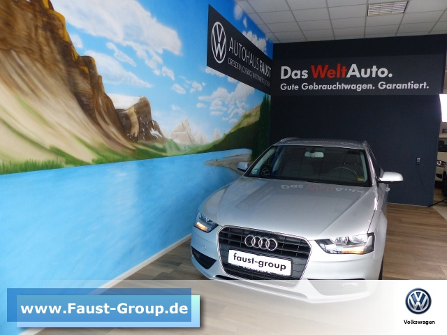 Audi A4 Avant Attraction Tiptronic AHK Klima, Jahr 2013, Benzin