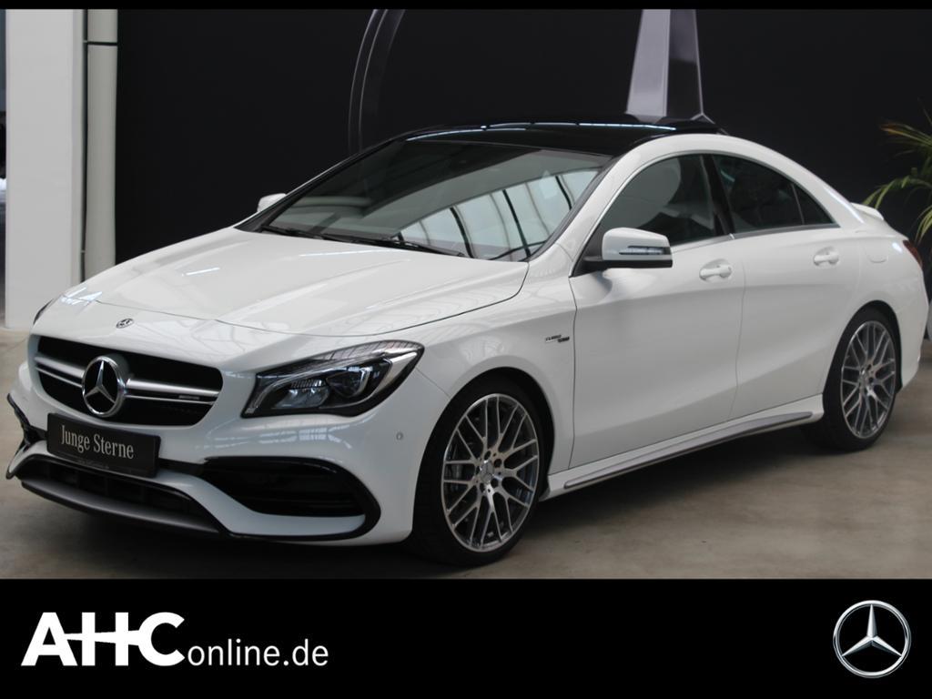 Mercedes-Benz CLA 45 AMG 4M Coupé PerformanceAbGas+Pano+Harman, Jahr 2018, Benzin