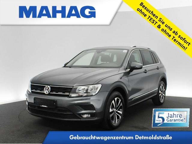 Volkswagen Tiguan 2.0 TDI UNITED NaviPro AppConnect Sitzhz. ParkPilot LightAssist LaneAssist FrontAssist 17Zoll 6-Gang, Jahr 2020, Diesel
