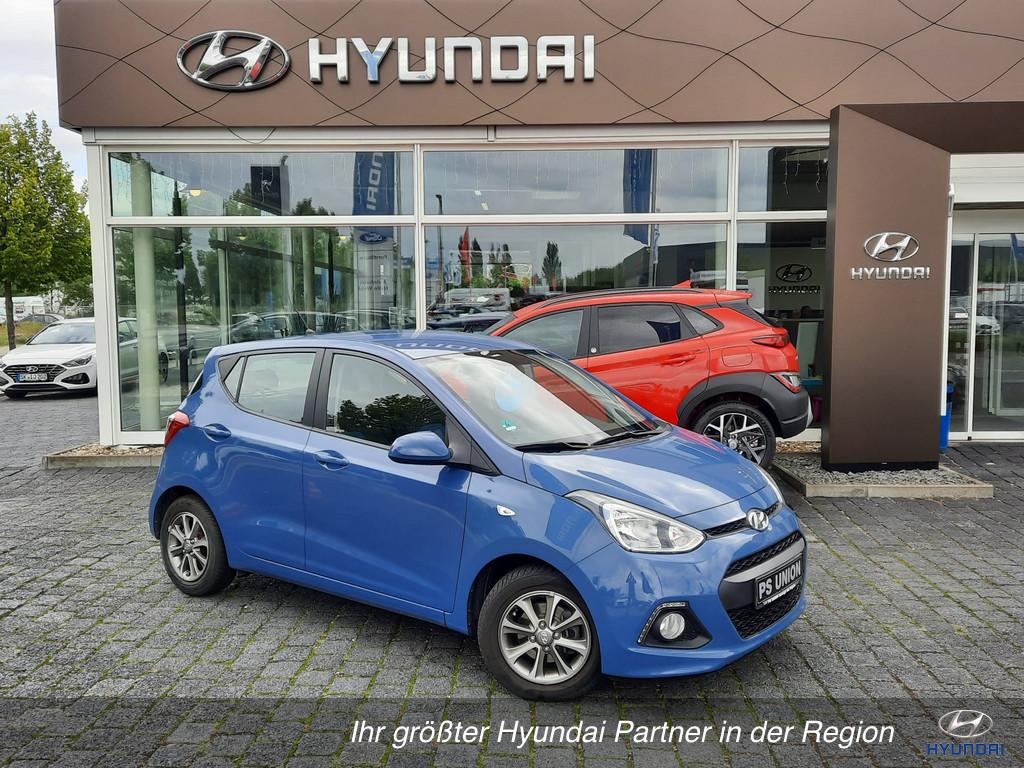 Hyundai i10 1.2 FIFA World Cup Allwettereifen 1.Hand, Jahr 2014, Benzin