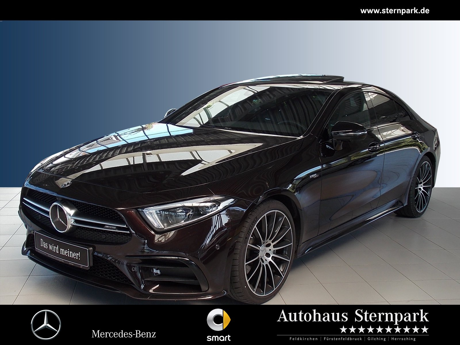Mercedes-Benz CLS 53 AMG 4M+ Comand+360°+Night+LED+SHD+Nappa++, Jahr 2019, Benzin