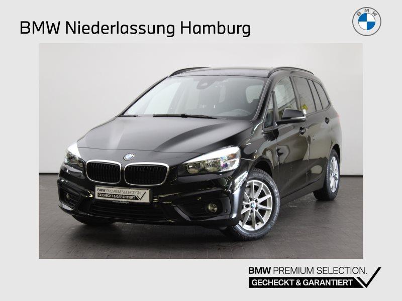 BMW 216 Gran Tourer i Advantage Navi Tempomat Shz, Jahr 2017, Benzin