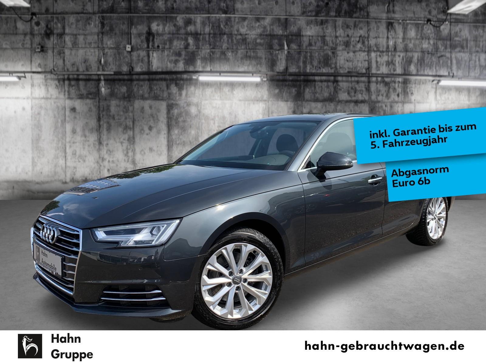 Audi A4 design 2,0TDI Nav LED Key Park Sitzh Temp AHK, Jahr 2017, Diesel