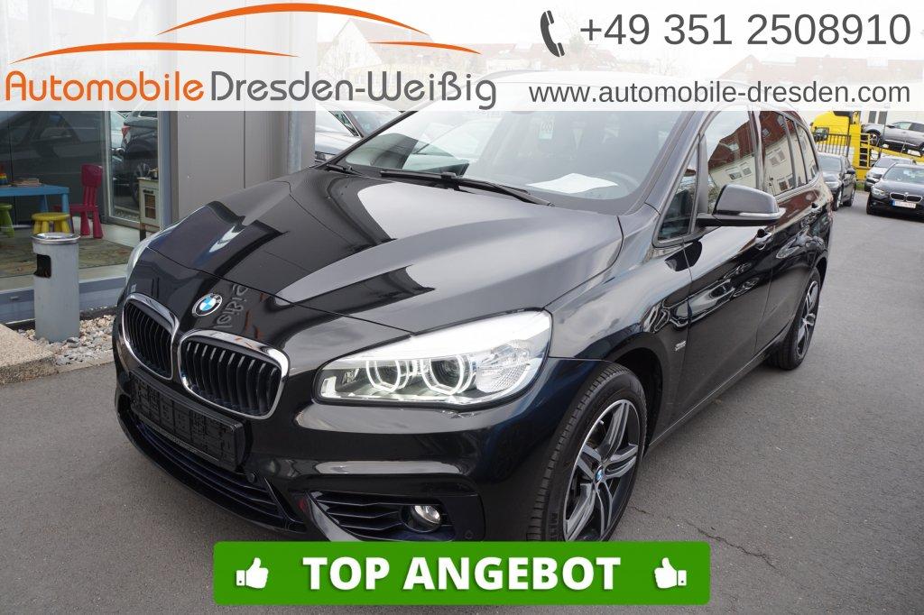 BMW 218 Gran Tourer d xDrive Sport Line*Nav*HiFi*DAB, Jahr 2017, Diesel