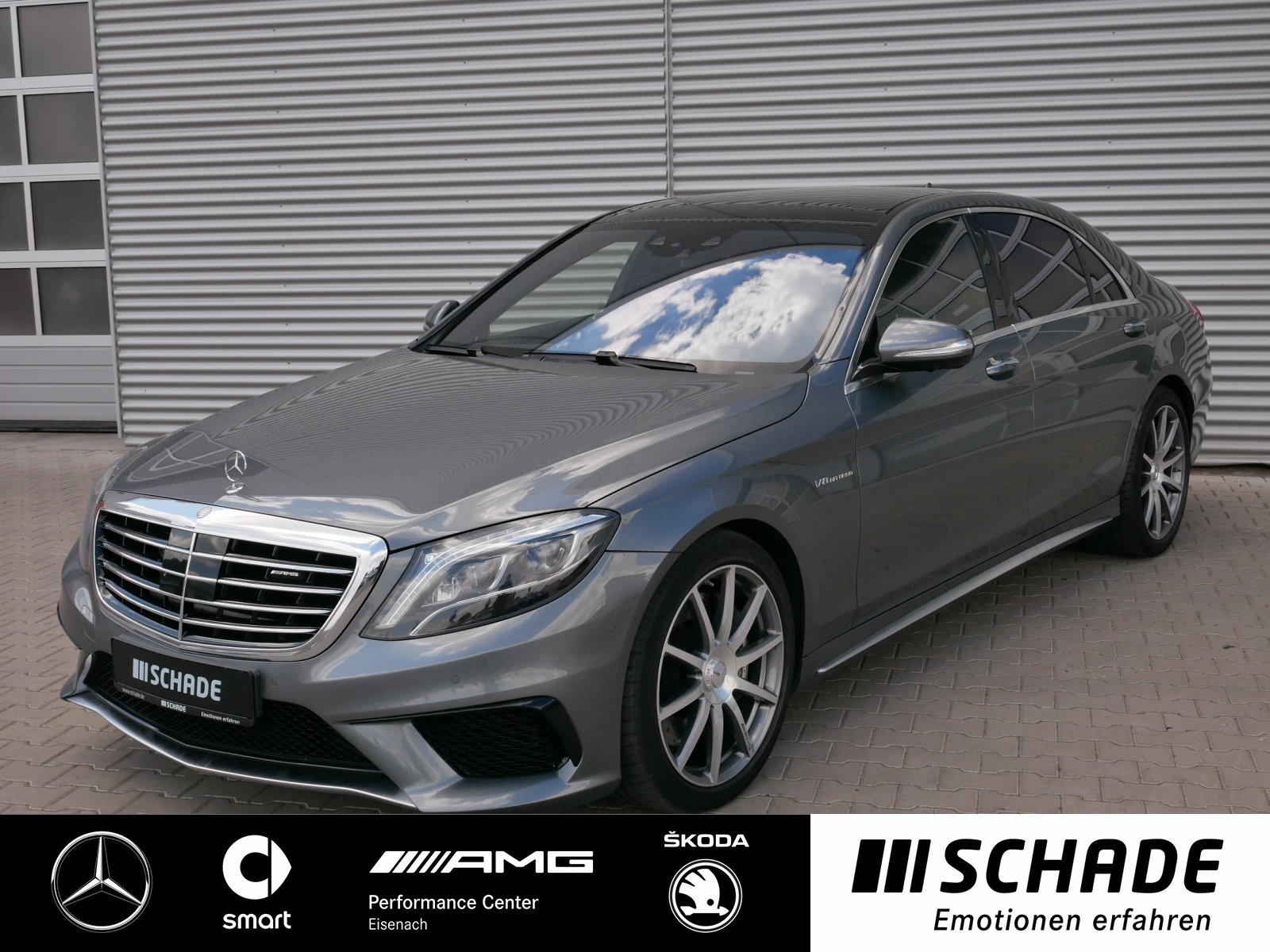 Mercedes-Benz S 63 4M lang Neupreis 215675*Standhzg*Burmester, Jahr 2016, Benzin