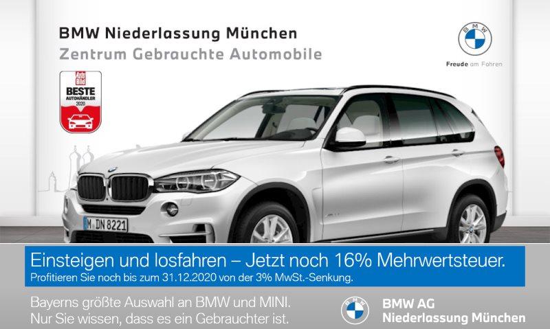 BMW X5 xDrive35i Head-Up Fond orientiert HK HiFi, Jahr 2017, Benzin