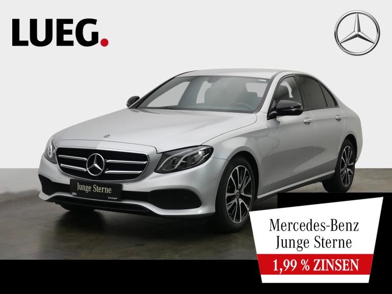 Mercedes-Benz E 200 d Avantgarde+Navi+LED-HP+Night+18+CarP+RFK, Jahr 2020, Diesel