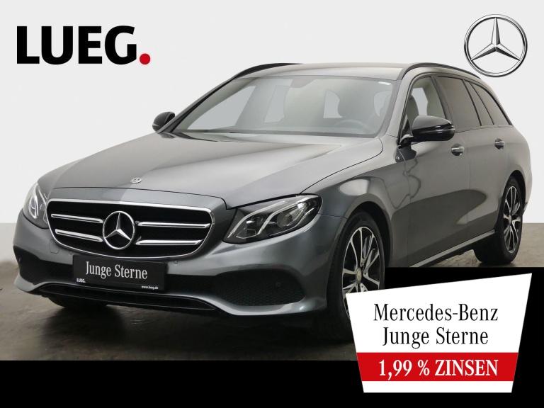 Mercedes-Benz E 200 d T Avantgarde+Navi+LED-HP+Night+18+Kamera, Jahr 2017, Diesel