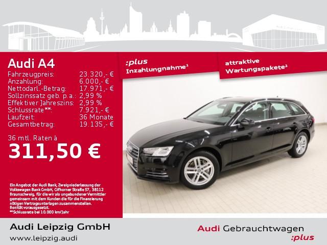 Audi A4 Avant 2.0TDI sport*Businesspaket*GJR*S tonic*, Jahr 2017, Diesel
