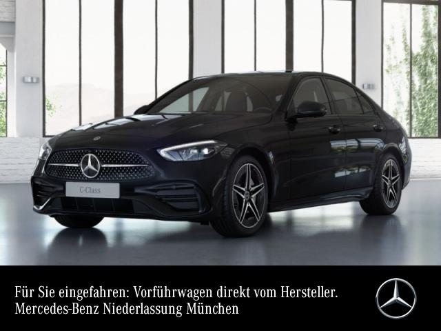 Mercedes-Benz C 200 AMG 360° LED AHK Night Spurhalt-Ass PTS 9G, Jahr 2021, Benzin